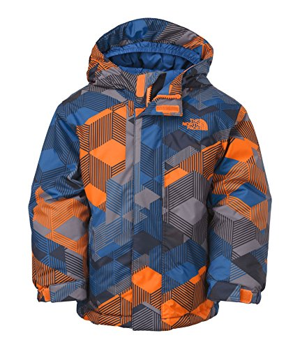 The North Face Toddler Insulated Brier Jacket (Peel Orange Multi) 2T