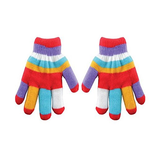 YIJIA Children Color Single Finger Gloves Color random