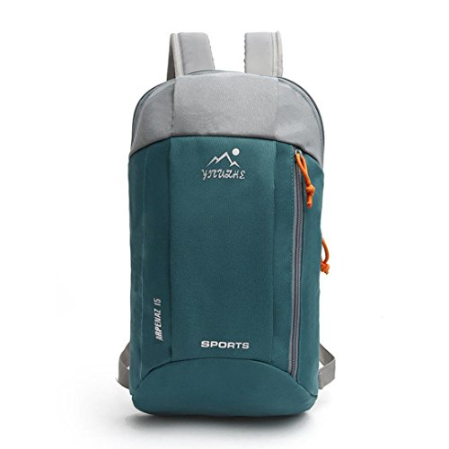 Womens Men Waterproof Casual Backpack Girl School Fashion Shoulder Bag Rucksack Travel Bags➪Laimeng (Green)