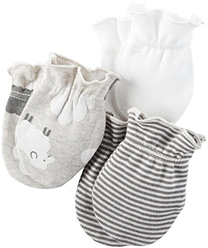 Carter's Unisex Baby Mitts 126g314, Assorted, 0-3