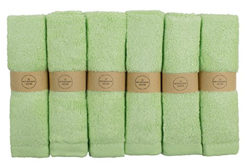 The Motherhood Collection 6 ULTRA SOFT Baby Bath Washcloths, 100% Natural Bamboo Towels, Perfect for Sensitive Baby Skin, 6 Pack 10