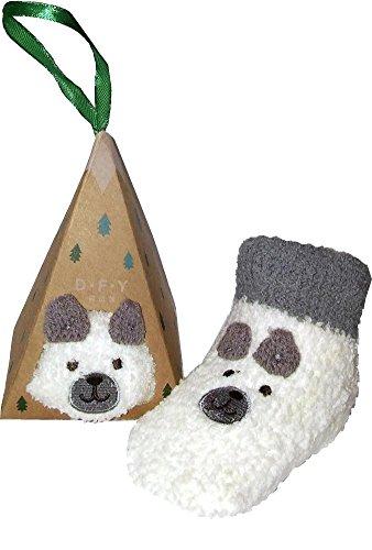 Baby Socks – Non Slip Skid, Fuzzy Warm Cozy – Gift for Girls Boys Kids with Box