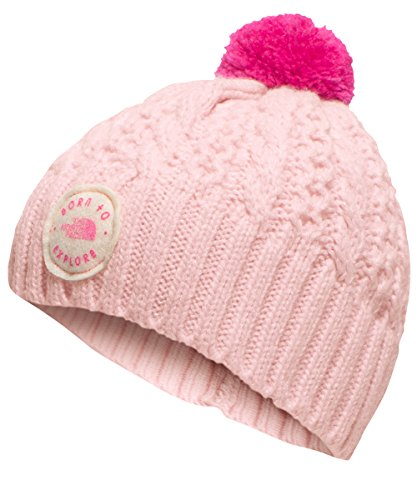 The North Face Baby Girls' Minna Beanie - purdy pink/petticoat pink, xs