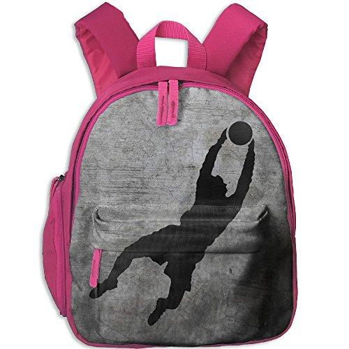 Children Soccer Goalkeeper Pre School Lunch Bag Pink