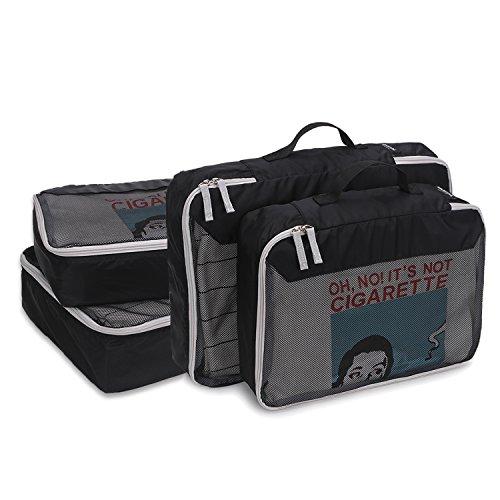 STARCARE 4 Set Packing Cubes, Travel Luggage Organizers, 2 Extra Large and 2 Medium