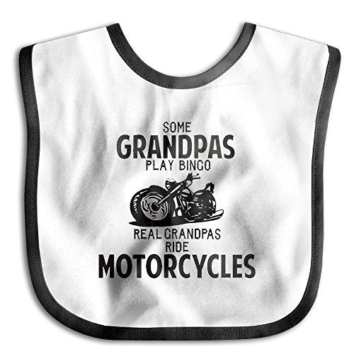 Baby Motorcycles Grandpas Teething Waterproof Bib