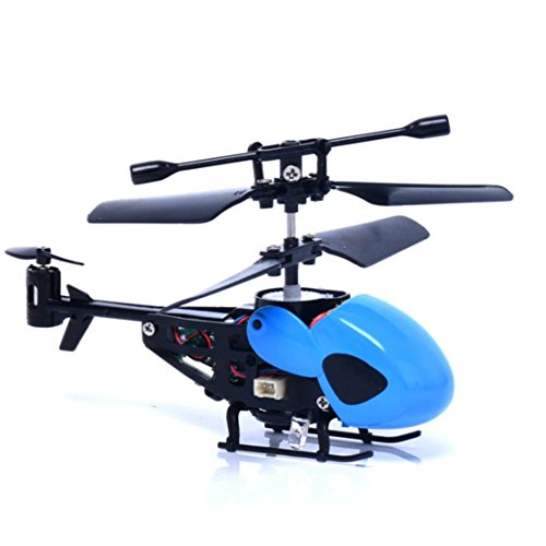 DORIC Mini RC Helicopter Radio Remote Control Flying Aircraft Micro Helicopters Toys Gift for Kids