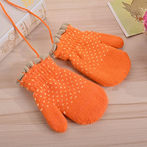 Kids Mittens, Boys Girls Winter Gloves, Soft and Warm Mittens for Toddler