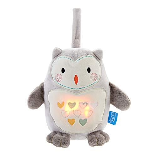 Gro Licht und Sound, Ollie the Owl grofriend, grau