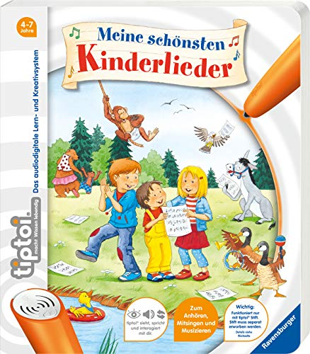 tiptoi® Meine schönsten Kinderlieder (tiptoi® Bilderbuch)